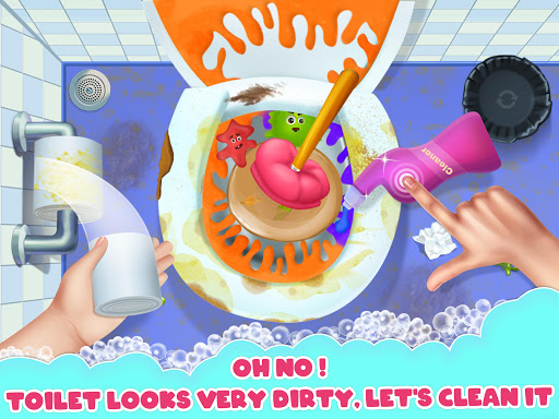 Big Home Makeover - House Cleaning Game for Girls 3.0 screenshots 10