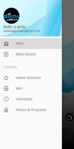 Radio Tv La Gorda - Ecuador screenshot 1