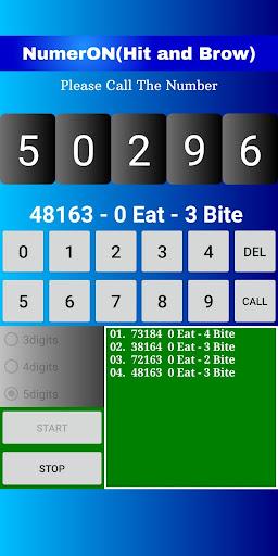 Code Triche Hit&Brow(NumerON) (Astuce) APK MOD screenshots 2