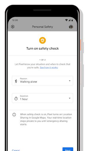 Personal Safety screenshots 3