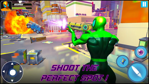 Strange Robot Vs Amazing Spider Vice City Hero  screenshots 14