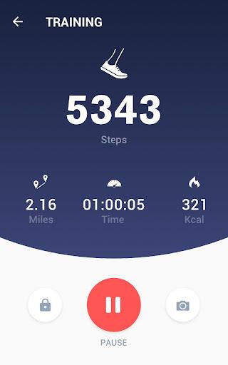 Pedometer -  Step Counter Free & Calorie Burner 2.0.4 Screenshots 9