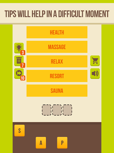 Guess the word - 5 Clues, word games for free 2.8.1 screenshots 2