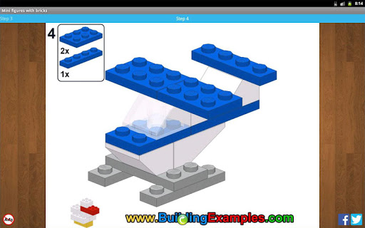 Mini figures with bricks  screenshots 8
