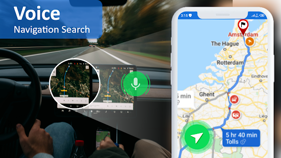 Image For GPS Maps Location - Voice Navigation & Directions Versi 1.4 3