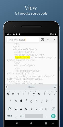 HTML Website Inspector - View & Edit Website HTML 2.991 Screenshots 4