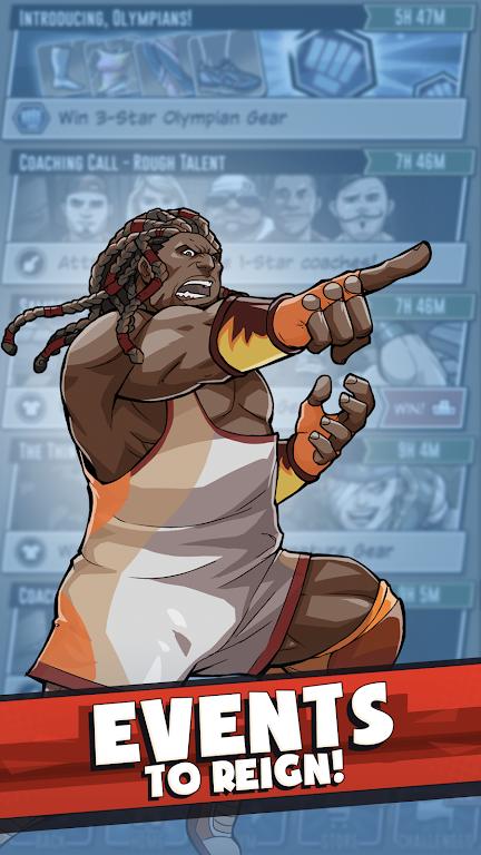 The Muscle Hustle: Slingshot Wrestling Game  poster 3