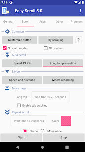 Easy Scroll – Automatic scrolling Premium MOD APK 3