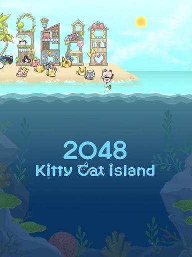 2048 Kitty Cat Island 1.10.1 screenshots 10