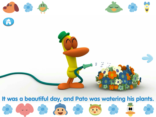 Pocoyo meets Nina - Storybook screenshots 8