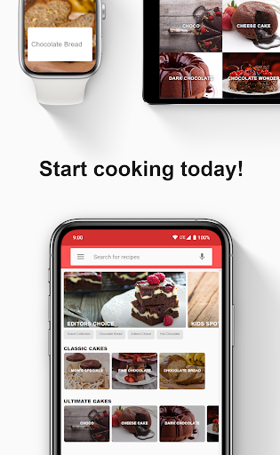 Chocolate recipes: Chocolate recipes offline  screenshots 3