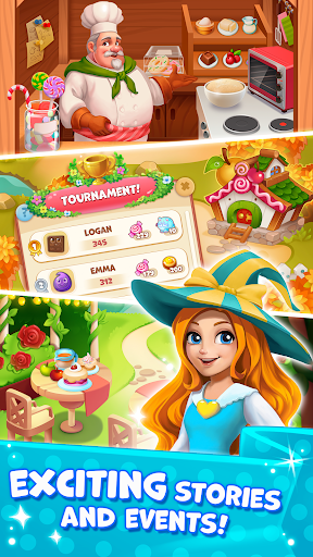 Candy Valley - Match 3 Puzzle 1.0.0.53 Screenshots 2