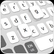 Simple Black White Keyboard