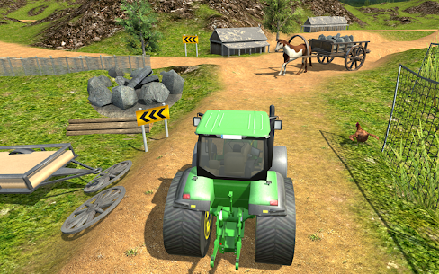 Village Tractor Driver 3D Farming Game 3