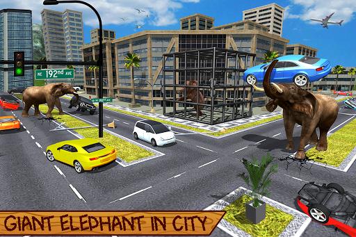 Wild Elephant Family Simulator apkpoly screenshots 8