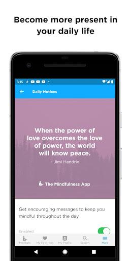 The Mindfulness App: relax, calm, focus and sleep screenshots 4