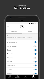 The Wall Street Journal v4.27.1.3 Subscribed APK 4