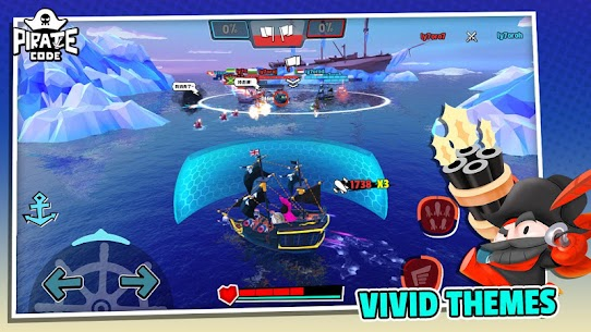 Pirate Code MOD APK (Unlimited Health) 5