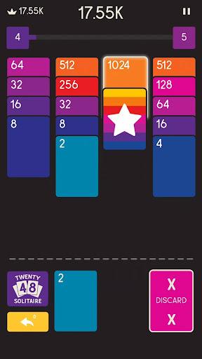 2048 Zen Cards screenshots 1