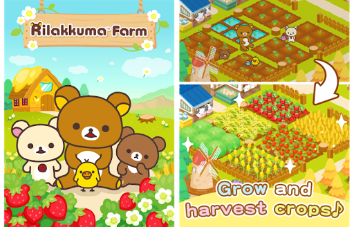Rilakkuma Farm modiapk screenshots 1