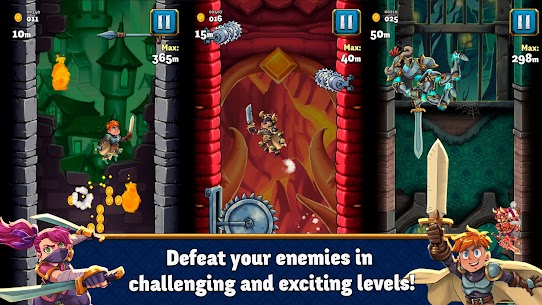 Super Tower Warriors – Jump As High As You Can! Mod Apk 922 (Unlimited Money) 1