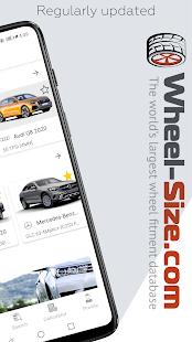 Wheel Size - Wheels database,Tire Size Calculator 2.8.6 Screenshots 2