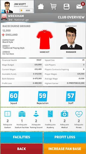 Club Soccer Director 2020 - Soccer Club Manager 1.0.81 Screenshots 8