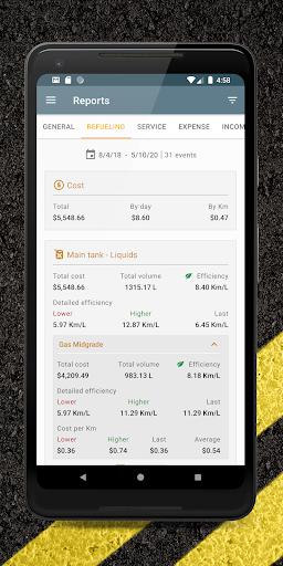 Carango - Car Management and Fuel Log  screenshots 6