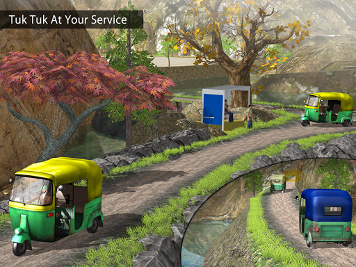 Tuk Tuk Auto Rickshaw Offroad Driving Games 2020 android2mod screenshots 12