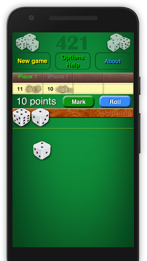 Dice Game 421 Free 1.8 screenshots 8