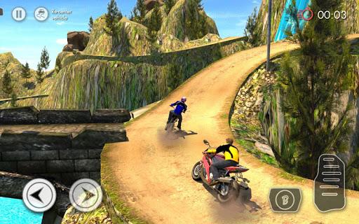 Télécharger gratuit Hors route courses de vélo APK MOD 1