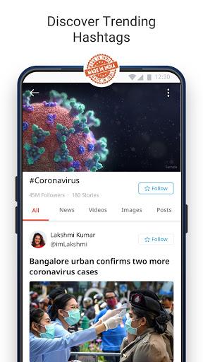 Dailyhunt - 100% Indian App for News & Videos 17.0.6 Screenshots 5