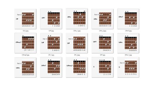chord guitar offline screenshot 3