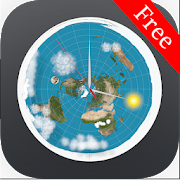 Flat Earth Clock (Free)