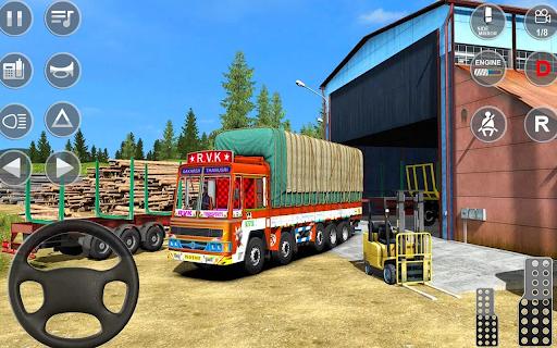 Euro Truck Driver 3D: Top Driving Game 2020 screenshots 1