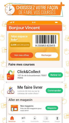 franprix : Livraison de courses et fidélité 4.7.5 screenshots 1