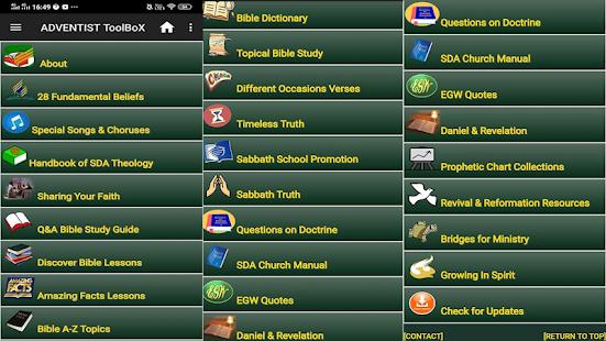 ADVENTIST ToolBoX 1.62 Screenshots 1
