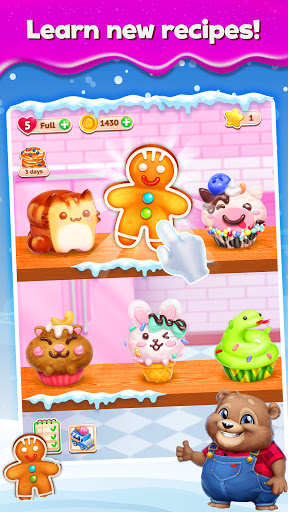 Sweet Escapes: Design a Bakery with Puzzle Games apkslow screenshots 3