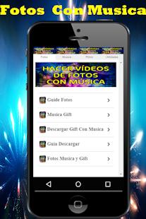 Hacer Videos De Fotos Con Musica y Escribir Guia 1.0 Screenshots 4