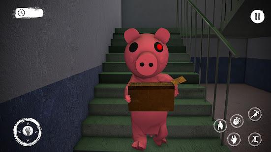 Piggy Family 3D: Scary Neighbor Obby House Escape 2.3 screenshots 1