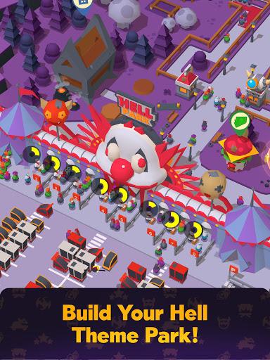 Hell Park - Tycoon Simulator Apkfinish screenshots 15