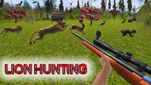 Wild Animal Rescue Sniper Shooting Games Free  screenshots 1