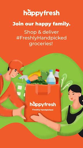 HappyFresh Shopper & Driver  screenshots 1