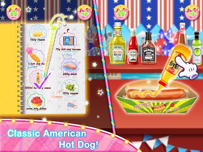 Unicorn Chef Carnival Fair Food Games for Girls 2.2 Screenshots 4