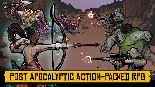 Days of Doomu2122 - Post-apocalyptic PvP RPG  screenshots 9