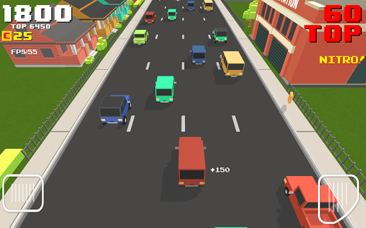 Blocky Road Racer 1.0 screenshots 13