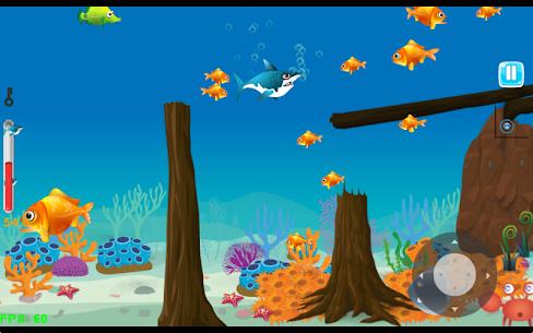 Shark Journey: Hungry Big Fish Eat Small and grow 10