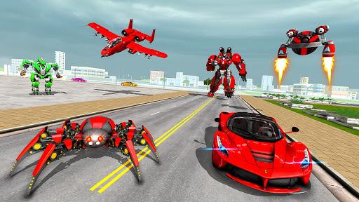 Spider Robot Game: Space Robot Transform Wars 1.0 screenshots 17