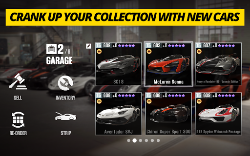 CSR Racing 2 u2013 Free Car Racing Game 2.17.4 screenshots 4