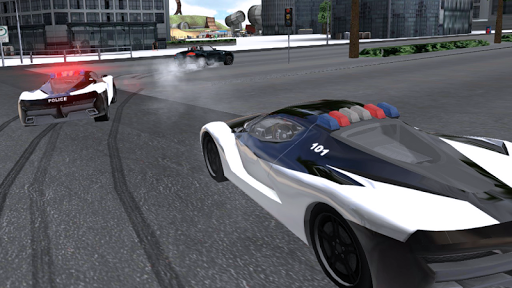 police chase car drifting screenshot 1